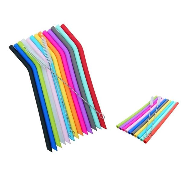 Plastic-Free Silicone Straw