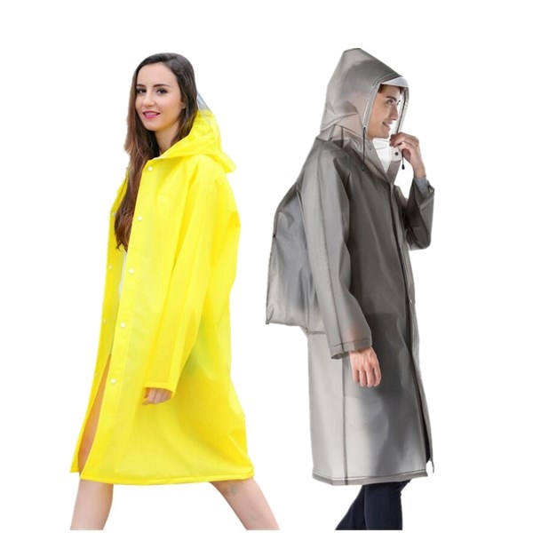 Reusable Raincoat with EVA