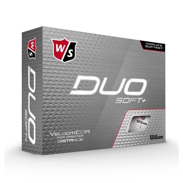 Wilson Staff DUO Soft Plus Golf Balls