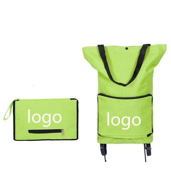 Collapsible Trolley Bags Folding Shopping Bag