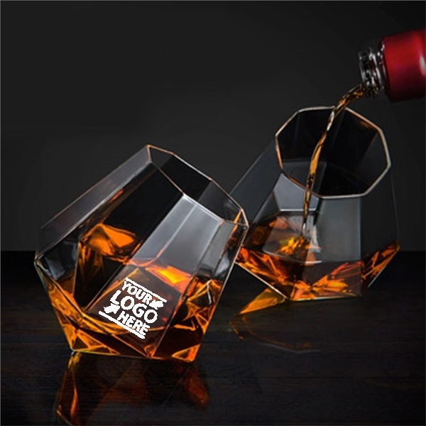 Christmas Diamond Shaped Liquor Whiskey Cup