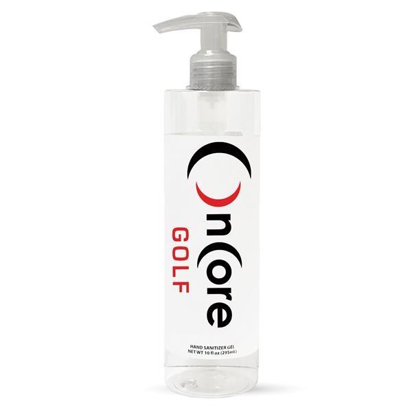 10 Oz Hand Sanitizer Gel Pump Bottle