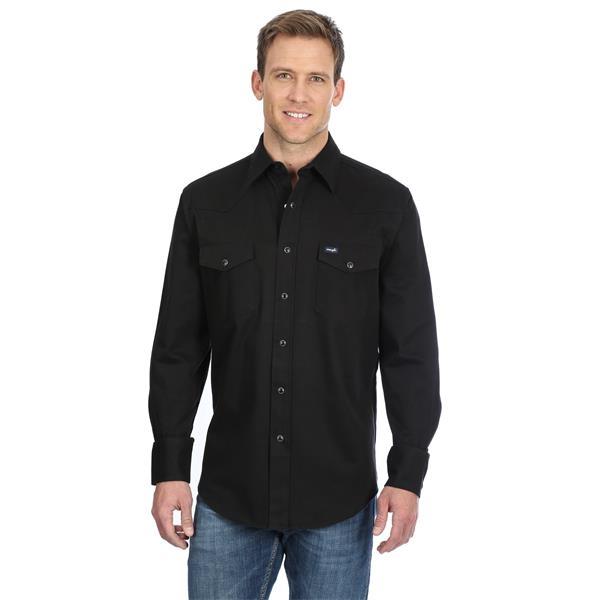 Wrangler Advanced Comfort Long Sleeve Workshirt