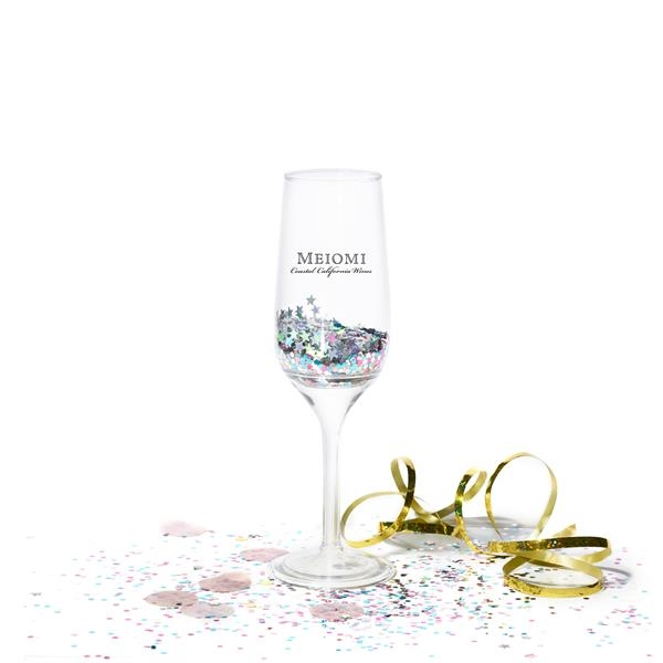 6 oz. Tossware Stemmed Plastic Champagne Flute (Detachable)