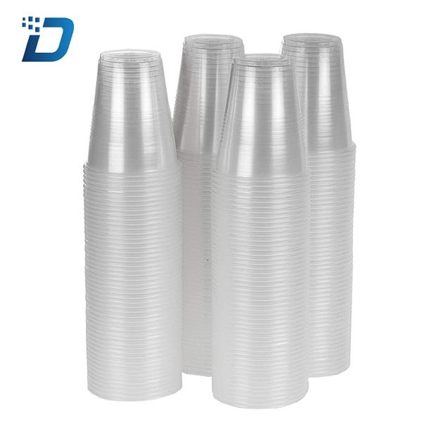 12 oz Clear Plastic Cups Disposable Cold Drink Party Cups