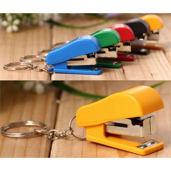 Mini Stapler Key Chain