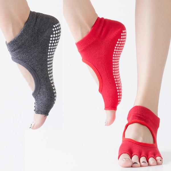 Yoga Non-slip sock five Finger