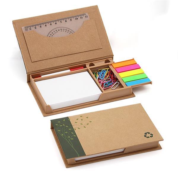 Eco-Inspired Desktop Sticky Notes Set