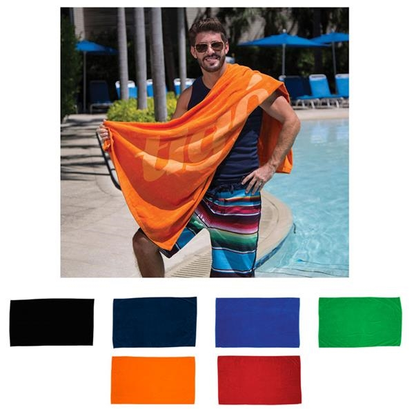 Diamond Collection Colored Beach Towel (