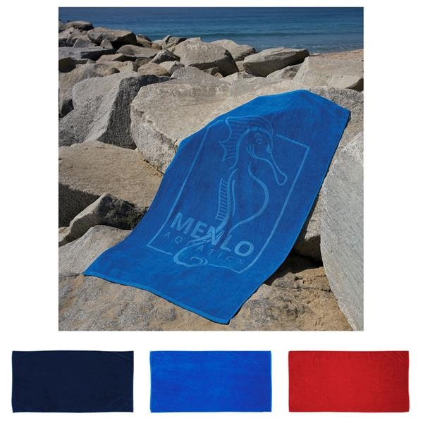 Platinum Collection Colored Beach Towel