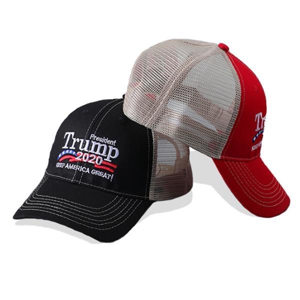 Washable Campaign Cotton Mesh Back Cap