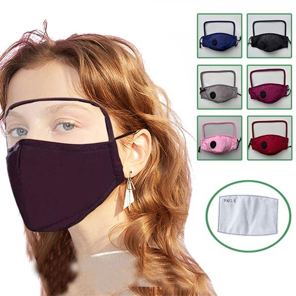 Breathing Valve Face Protection Cotton Mask