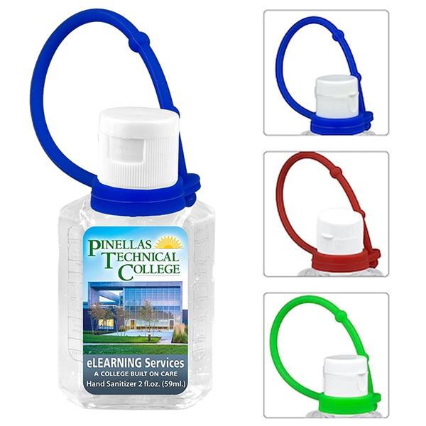 2.0 oz Compact Hand Sanitizer Antibacterial Gel in Flip-Top