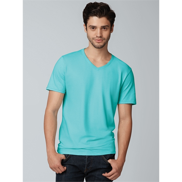 Sofspun® V-Neck T-Shirt