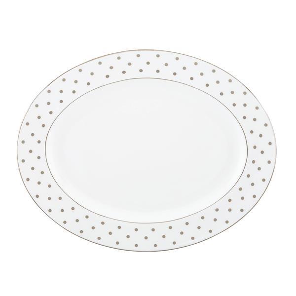 Kate Spade Larabee Rd Plat Dinnerware Ov Platter 16.0