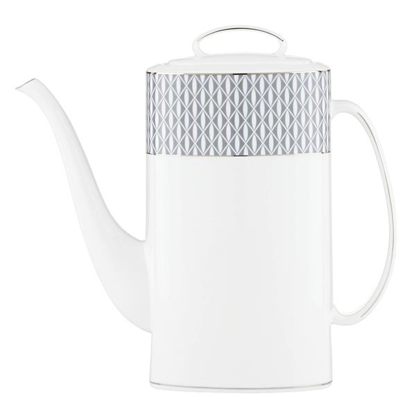 Kate Spade Mercer Dr Dinnerware Coffee Pot W/Lid