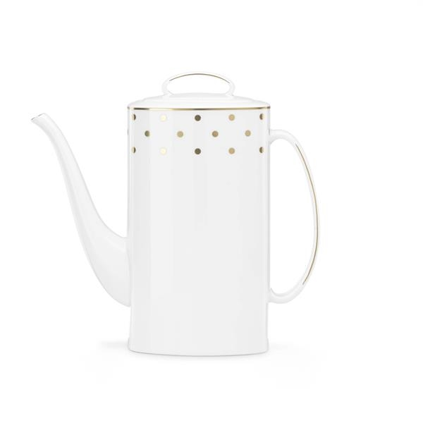 Kate Spade Larabee Rd Dinnerware Coffee Pot W/Lid