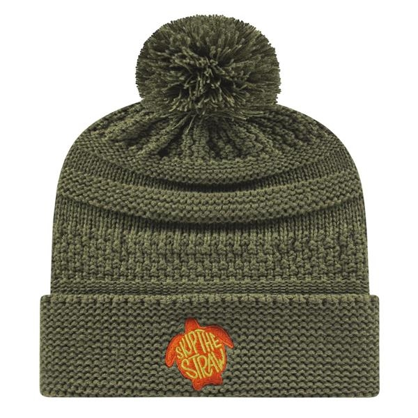 In Stock Cable Knit Cap