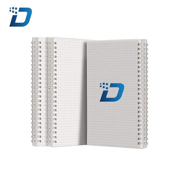Graph Paper Notebook Grid Spiral Notebook