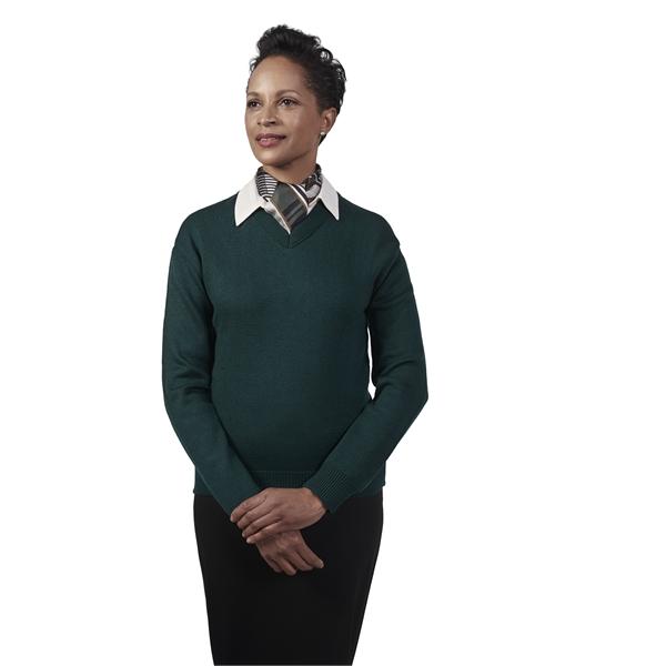 V-Neck Long Sleeve Pullover