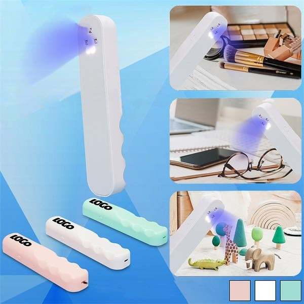 PPE UV Sanitizer Rechargeable Handheld UV Ultraviolet Lamp