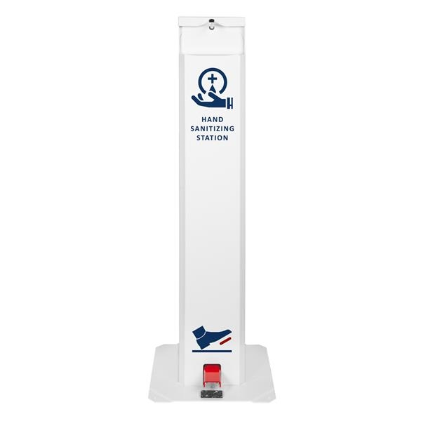 Touch-Free Pedal Hand Sanitizing Station