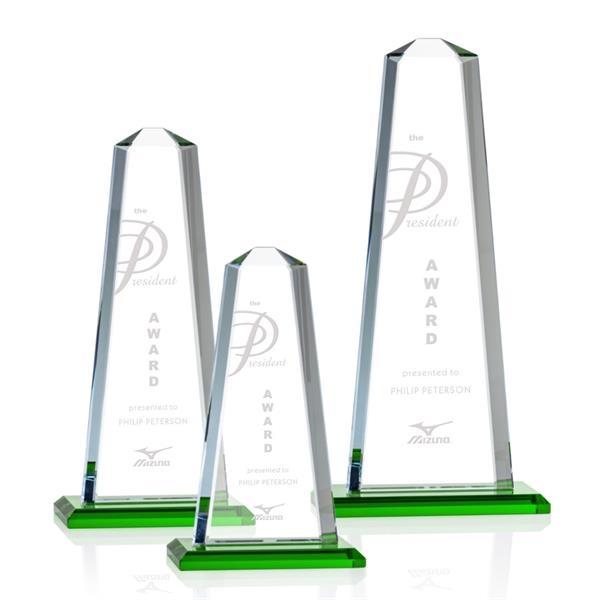 Pinnacle Award - Green