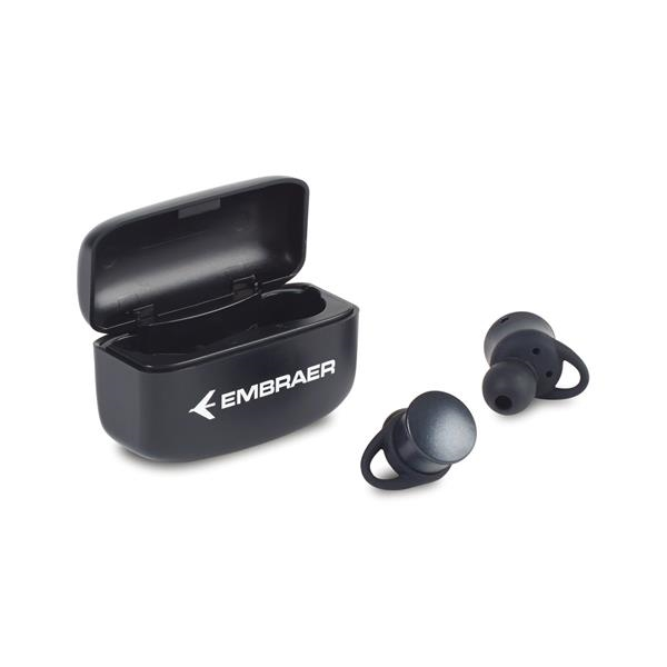 Orbit TWS Earbud w/ Wireless Charging Case