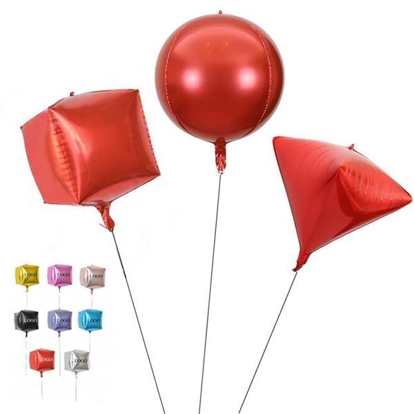 4D Round Foil Balloon