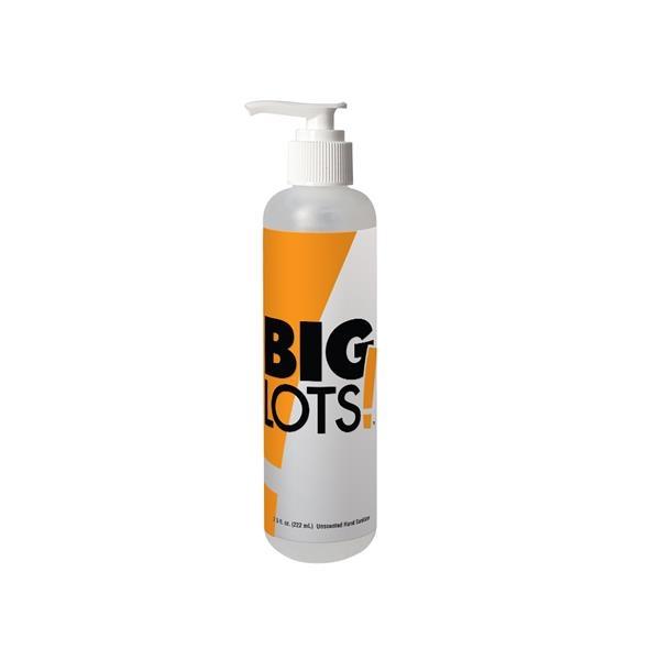 8 oz Bullet Sanitizer with Pump
