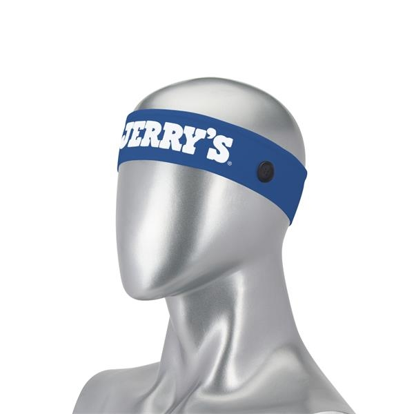 """Mask Buddy Premium 2"""" Cotton Head Band with Buttons"""