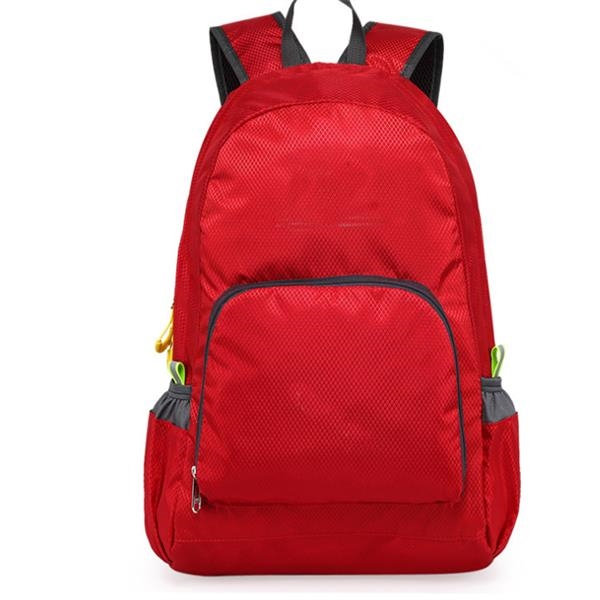 Leisure Outdoor Sports Double Shoulder Folding Backpack