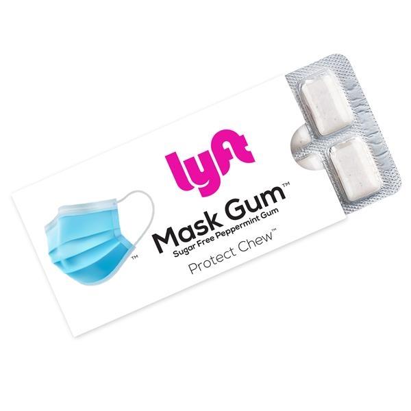 Mask Gum™ 12 Pc Sugar Free Peppermint Gum Pack