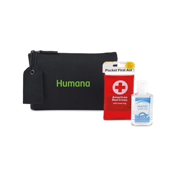 American Red Cross Pocket First Aid Hand Sanitizer Bundle