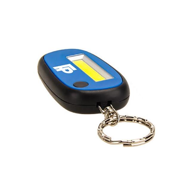 Dual Mode Mini COB LED Flashlight Keychain