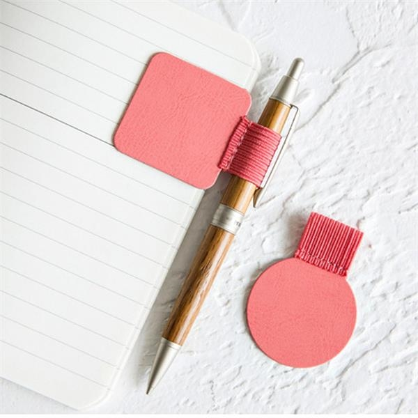Leather Pen Holder Pen Clips for Notebooks Journals