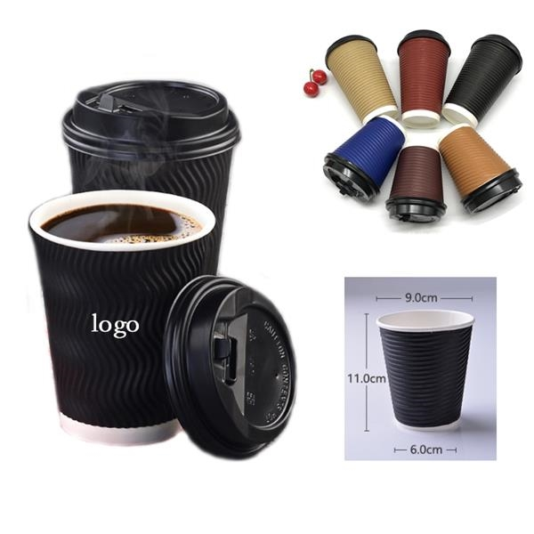Custom Corrugated Double Layer Paper Cup