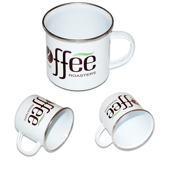 11.8 oz. Enamel Mug Camping Coffee Cup