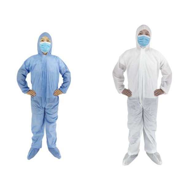 Disposable Gown With Zipper & Hat