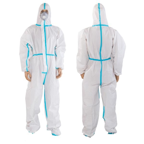 Disposable Coverall Gown With Hat