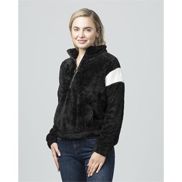 Boxercraft Women's Remy Fuzzy Fleece Pul
