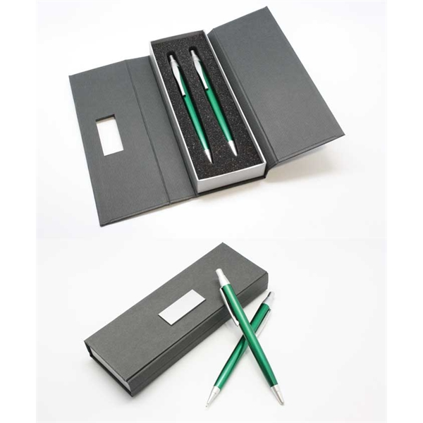 Metal Ballpoint Pen and Pencil Set