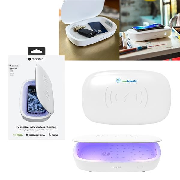 mophie® UV Sanitizer with Wireless Charging