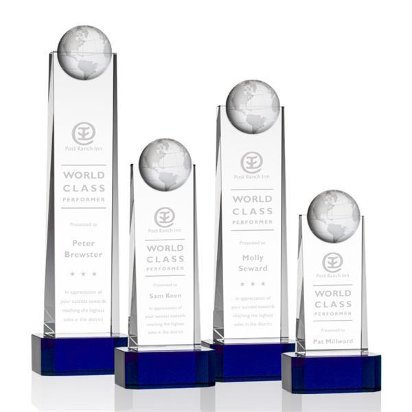 Sherbourne Globe Award on Base - Blue