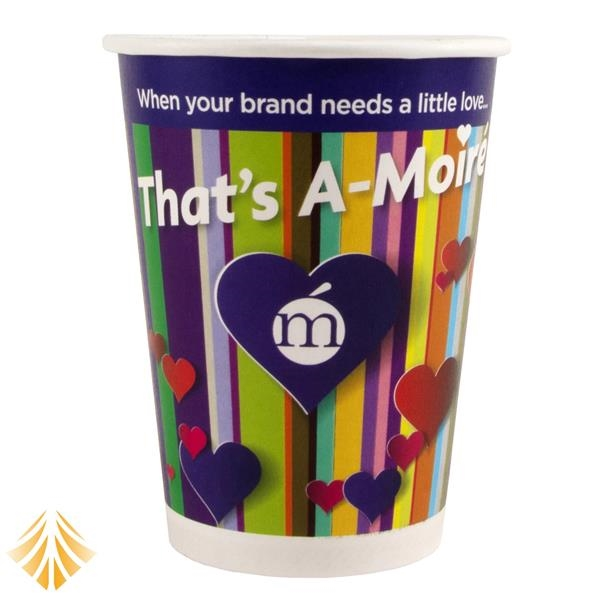 12 oz. Full Color Heavy Duty Hot/Cold Paper Cup