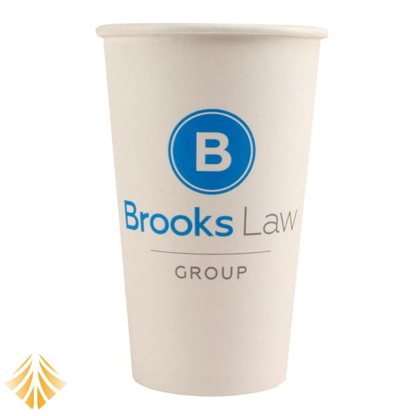 16 oz. Full Color Heavy Duty Hot/Cold Paper Cup