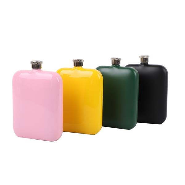 6oz Stainless Hip Flask