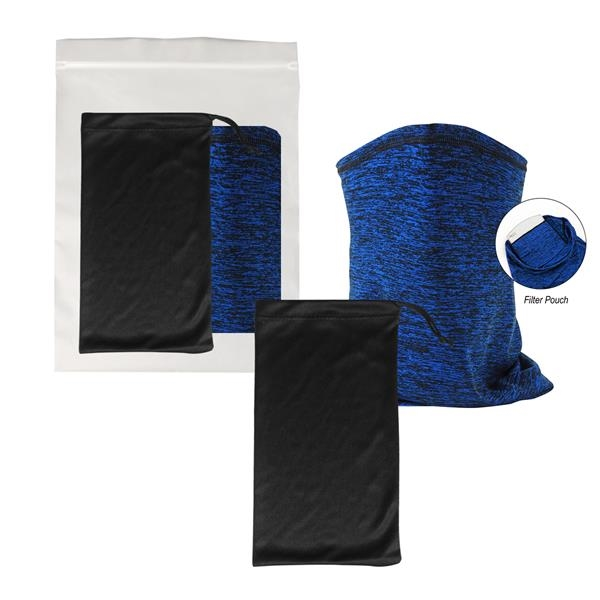 Cooling Gaiter With Pouch