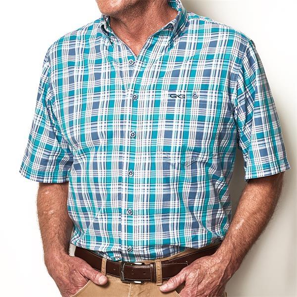 Men's Classic Cotton Plaid Shirt