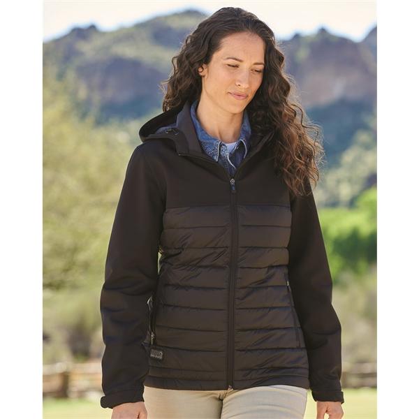 DRI DUCK Women's Vista Soft Shell Puffer Jacket